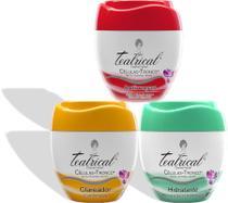 Teatrical Creme Facial Hidratante, Antirrugas e Clareador - 3 unidades -