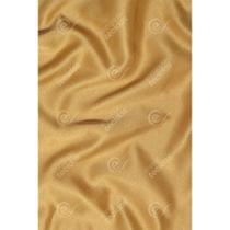 Tecido Cetim Dourado Liso - 1,50m de Largura -