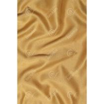 Tecido Cetim Dourado Liso - 3,00m de Largura -