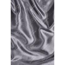 Tecido Cetim Prata Liso - 1,50m de Largura -