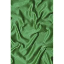 Tecido Cetim Verde Bandeira Liso - 3,00m de Largura -