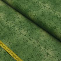 Tecido Estampado para Patchwork - 50 Tons Arabesco Verde Escuro Cor 29 (0,50x1,40) - Fernando Maluhy