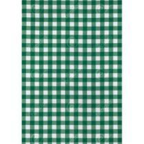 Tecido Gorgurinho Xadrez Verde - 1,50m de Largura -