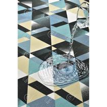 Tecido Impermeável Acqua Linea Evolution Azul - 1,40m de Largura -