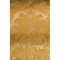 Tecido Jacquard Dourado Ouro Vibrante Medalhão Tradicional - 2,80m de Largura - Jacquard Tradicional