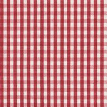 Tecido Para Sofá e Estofado Valência 32 Xadrez Mini Vermelho Cru - Largura 1,40m - Wiler-K