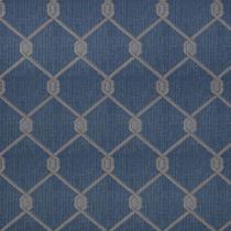 Tecido para Sofa Pisa 25 Jacquard Geometrico Azul - Largura 1,40m - Wiler-K