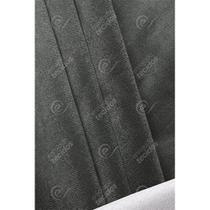 Tecido Suede Cinza Grafite Liso (Veludo) - 1,45m de Largura - Suede Liso