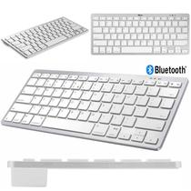 Teclado Bluetooth para iPad Air 3 2019 Branco/Prateado - Global Cases