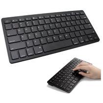 Teclado Bluetooth Tablet Celular Notebook IMac Preto - Concise Fashion Style