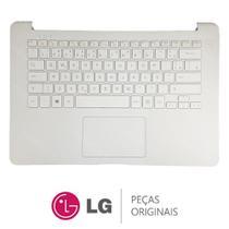 Teclado Com Gabinete Superior Branco Notebook LG 14U380 -
