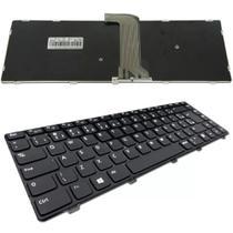 Teclado Compatível Notebook Dell Inspiron 3421 Nsk-l90sw P/n: 9z.n8vsw.001 Abnt2 - Neide Notebook