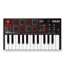 Teclado Controlador Akai Mpk Mini Mk Play C/ Entrada Usb -