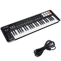 Teclado Controlador M-Audio Oxygen 49 Teclas MKIV MIDI USB - M AUDIO