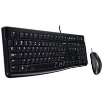 Teclado e Mouse Logitech Desktop mk120 USB 920-004429 -