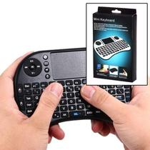 Teclado e Mouse Mini TouchPad Computador PC Xbox Ps3 Usb TV Android Iptv Smartv - Feir