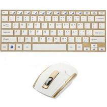 Teclado E Mouse S/fio Ultrafino 2.4ghz Wireless Usb Wifi Hk-3910 -