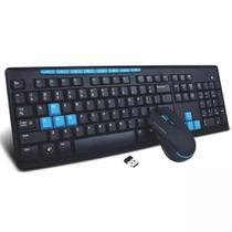 Teclado e Mouse sem fio HK3800 - Xtrad