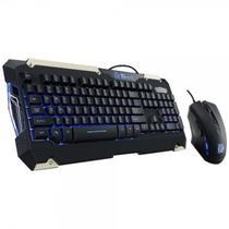 Teclado e Mouse Thermaltake Tt Esports Commander Combo 2.400 Dpi - KB-CMC-PLBLPB-01 -