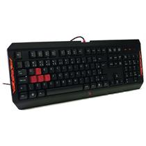 Teclado Gamer A4 Tech Bloody Q100 USB Preto