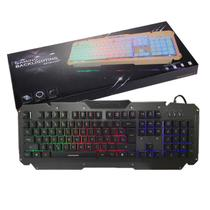 Teclado Gamer Com Led Semi-mecânico Anti-Ghosting Backlight M500-s - Backlighting