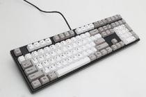 Teclado Gamer Mecanico ONE Keycaps Cinza - DUCKY Channel CHERRY BLACK DKON1608-AUSPHZBB5 -