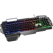 Teclado Gamer Multilaser Semi Mecânico Warrior TC210