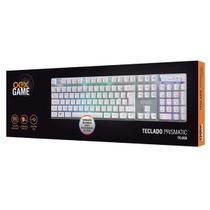 Teclado Gamer Prismatic TC205 ABNT2 LED Rainbow OEX -