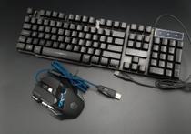 Teclado gamer usb semi mecanico com mouse an300 - Iunit