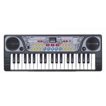 Teclado Infantil Com Microfone Bx1622 - Dm Toys -