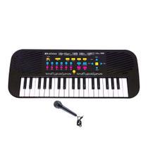Teclado Infantil Eletrônico Musical Com Microfone 55cm - Dm Toys