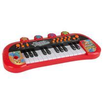 Teclado Infantil eletrônico Musical para criança Luzes e som Zoop - Zoop Toys