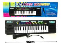 Teclado Infantil Musical 32 Teclas Keys Com Microfone Piano - Eletronic