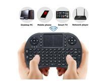 Teclado Mini Bluetooth Wireless Touchpad Smart Tv Celular Xbox 360 Ps3 - blacklit