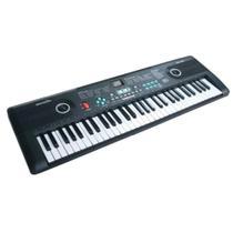 Teclado musical 61 teclas iniciante com microfone e usb- importway -