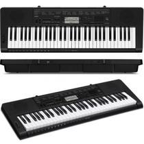 Teclado Musical Digital Preto Casio CTK-3500K2-BR -