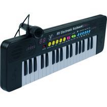 Teclado Musical Infantil 37 Teclas Iniciante C/ Microfone - Importway