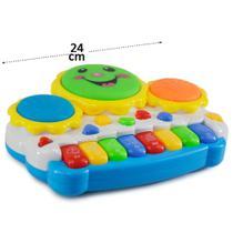Teclado Musical Infantil Fungame -
