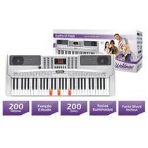 Teclado Musical KeyPro Flash 61 KEP-61F, Teclas Iluminadas, 61 Teclas - WALDMAN -