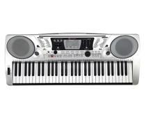Teclado Musical Michael KAM500 61 Teclas Sensitivas - 64 Polifonias - 128 Ritmos - Inclui Fonte e Estante Partitura -