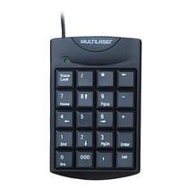 Teclado numerico com fio usb preto multilaser - tc229 -