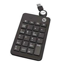 Teclado numérico com fio USB retrátil 0134 - Bright -
