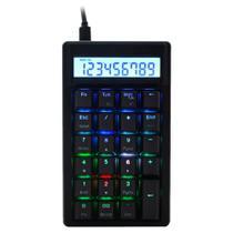 Teclado Numérico Mecânico Ducky Channel DKPO1623ST-RUSPDAAT1 Pocket RGB Cherry Red -