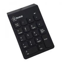 Teclado Numérico Sem Fio Conector USB 18 Teclas Windows Mac - Dukie
