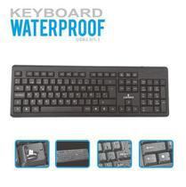 Teclado Para Computador/Notebook Waterproof USB Lehmox -