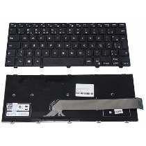 Teclado Para Dell Inspiron 14-3000 Série 3441 3442 3443 Ç - Digital