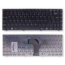 Teclado para Notebook Positivo Premium N8575  Preto ABNT2 - Wi-Fi no F11 - Bringit