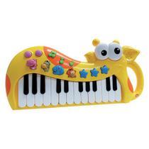 Teclado Piano Girafa Brinquedo Musical Infantil - Guta Guti