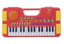 Teclado Piano Musical Infantil A Pilha Grava - Importway -
