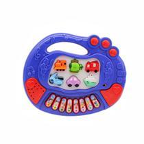 Teclado Piano Musical Infantil Bebê Carros Sons Crianças - Loja Catarinense